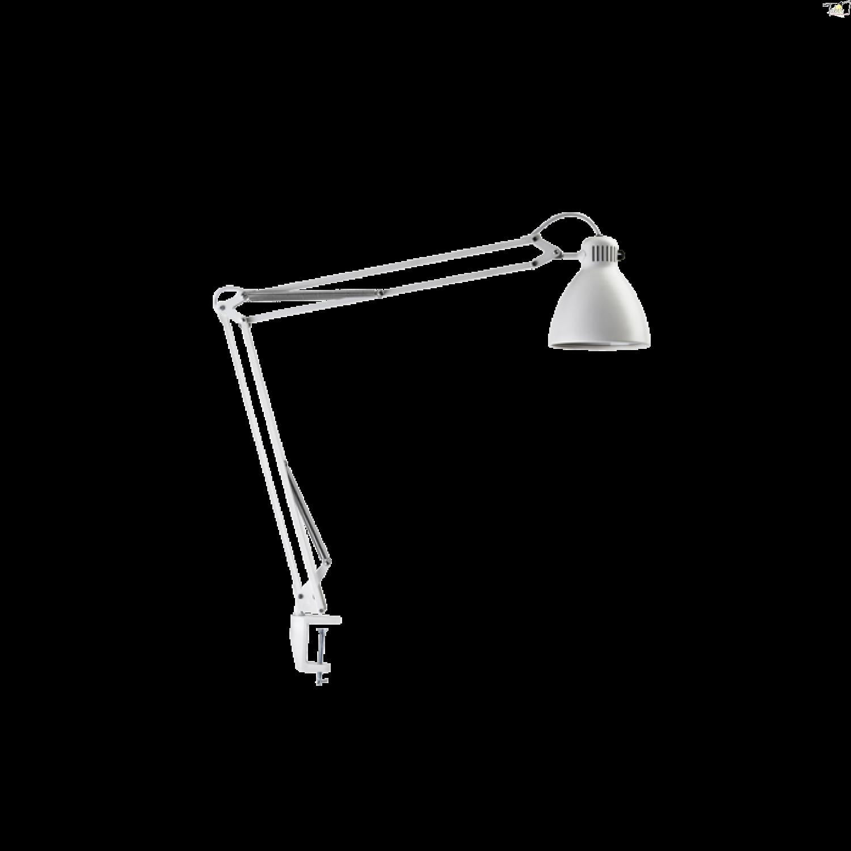 Luxo L 1 Led Task Light With Edge Clamp White Luxo Lighting Com