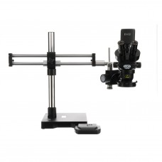Luxo Microscope System ESD-Safe, S-Z 23mm TRU Trinocular, RB Stand, Dimmable LED-High Output Ring Light, Excelis HD Camera, Video adapter