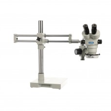 Luxo Microscope System S-Z 23mm Binocular, RB Stand, LED-3000 Ring Light