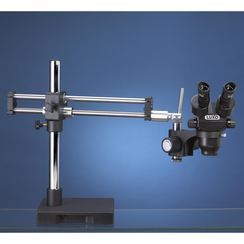 Luxo Microscope System ESD-Safe, S-Z 23mm Trinocular, RB Stand