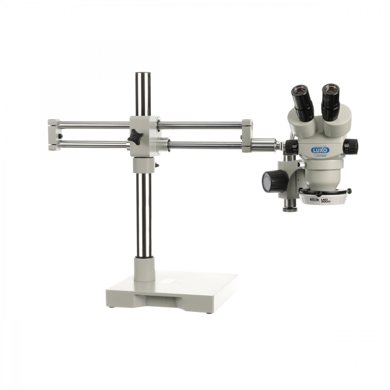 Luxo Microscope System S-Z 23mm Binocular, RB Stand, LED-3000 Ring Light