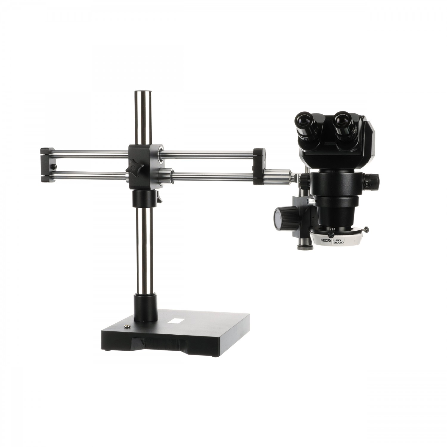 Luxo Microscope System ESD-Safe, VIP Microscope, RB Stand, LED-3000 Ring Light