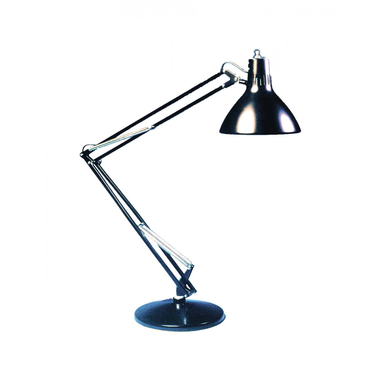 Luxo LS1E-BK Compact Fluorescent Task Light